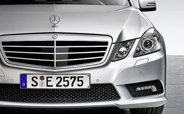 Mercedes E klasy z pakietem AMG
