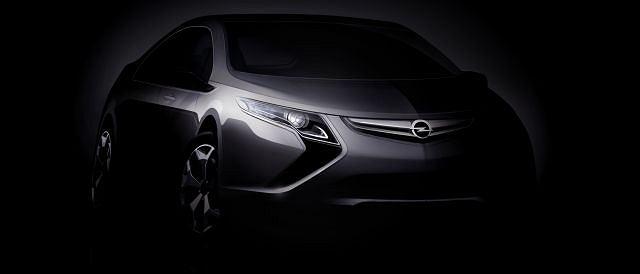Opel Ampera - pierwsze oficjalne zdjęcie