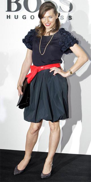 Milla Jovovich fot. AP Photo/Markus Schreiber/AG