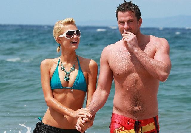 Paris Hilton i Doug Reinhardt na Maui
