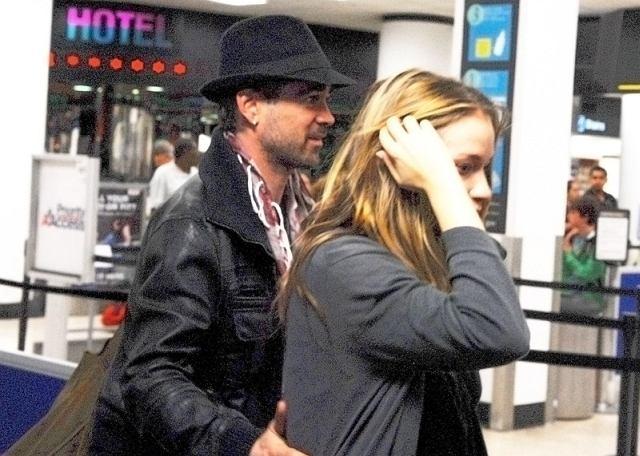 Jedno z pierwszych wspólnych zdjęć Colina Farrella i Alicji Bachledy-Curuś. Wiadomość o ich romansie szybko obiegła cały świat.