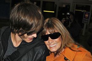 Zac Efron z mamą/Forum