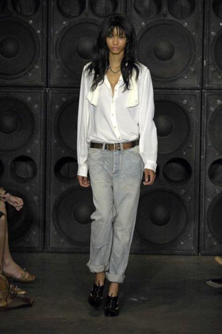 Projekt: Alexander Wang / wiosna/lato 2008 (Fot. EAST NEWS)