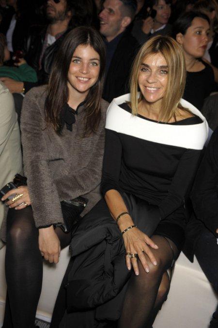 Carine Roitfeld z córką Julią (Fot. EAST NEWS)
