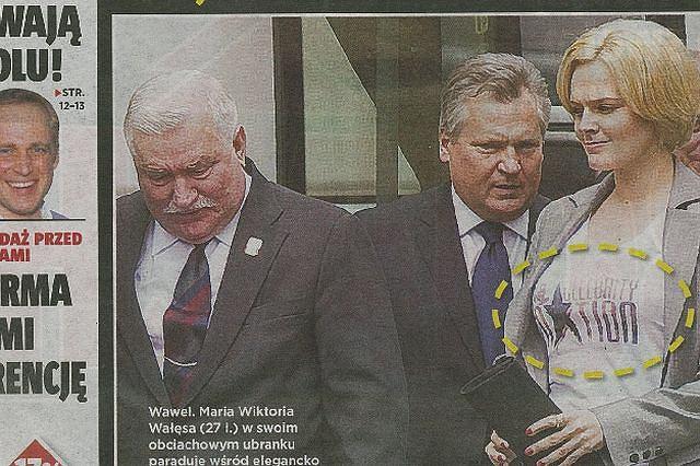 Córka Lecha Wałęsy fot. 'Super Express'