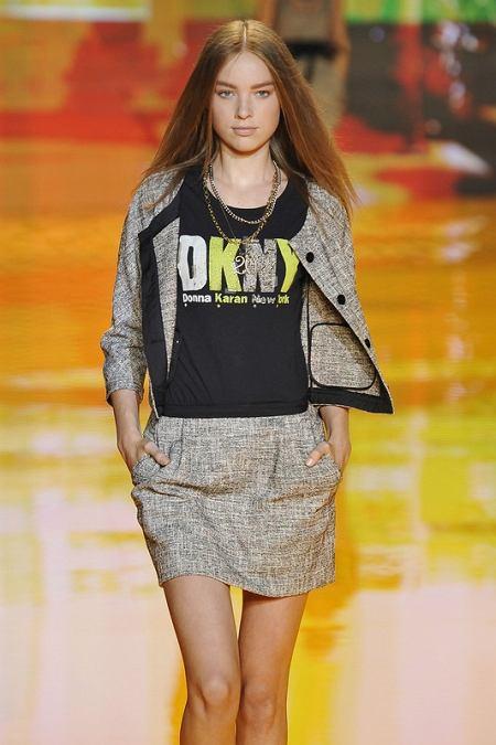 Projekt: DKNY (wiosna/lato 2009)