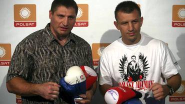 Tomasz Adamek i Andrzej Gołota