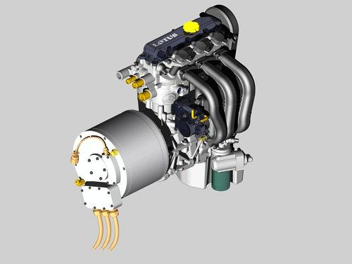 Nowy silnik Lotusa zaprojektowany z myślą o napędach hybrydowych