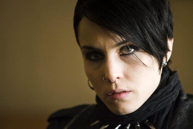 Noomi Rapace w roli Lisbeth Salander w filmie 'Millennium: Mężczyźni, którzy nienawidzą kobiet'