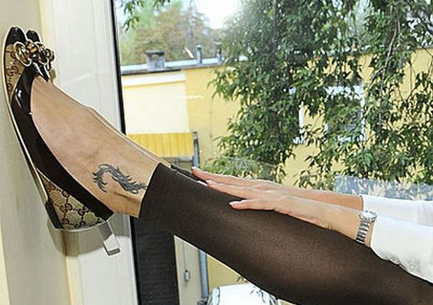 Agnieszka Szulim Ma Tatuaże
