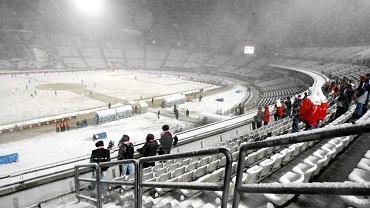 Polska - Słowacja i pusty Stadion Śląski