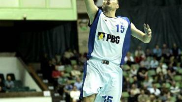 Wojciech Szawarski z PBG Basket Poznań
