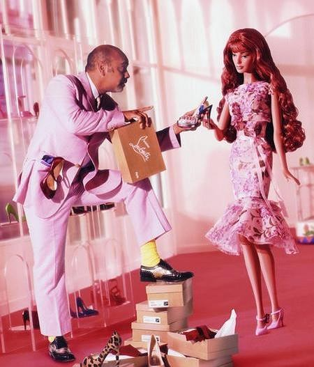 Barbie i Christian Louboutin