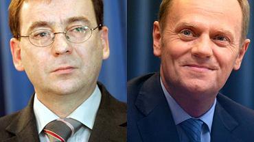 Mariusz Kamiński i Donald Tusk