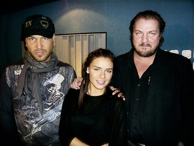 Natasza Urbańska i muzycy z Ace Of Base