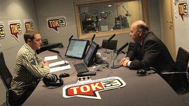 Grzegorz Lato w studiu TOK FM