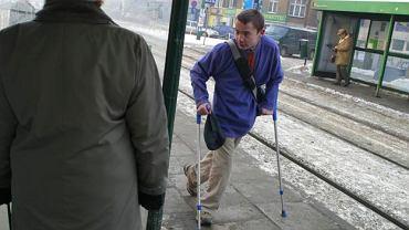 Marek Suwezda na pierwszym roku studiów w Poznaniu - 2006 rok