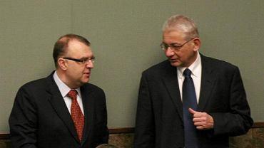 Byli posłowie PiS, a obecnie liderzy partii Polska Plus - Kazimierz Ujazdowski i Ludwik Dorn