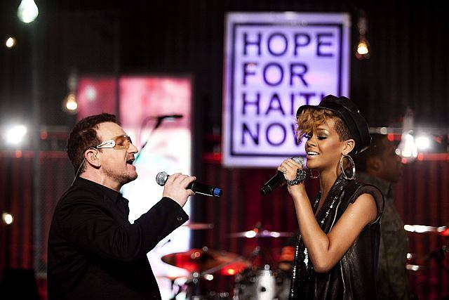 Bono i Rihanna
