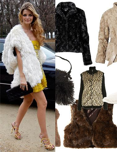Futro - modny trend na wiosnę