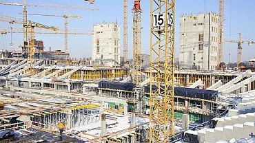 Budowa Stadionu Narodowego 04.02.2010