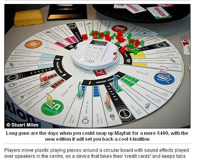 Monopoly ma 75 lat. Z tej okazji klasyczną planszę do gry zastąpiła okrągła