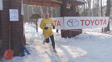 Beata Sadowska na trasie