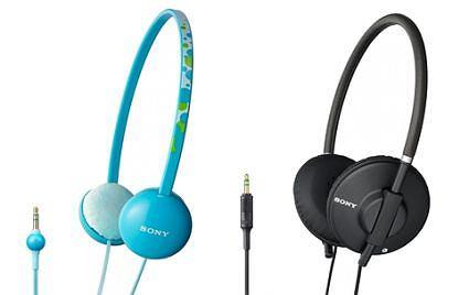 Słuchawki Sony: MDR-570, MDR-370 oraz MDR-EX77 i MDR-EX57