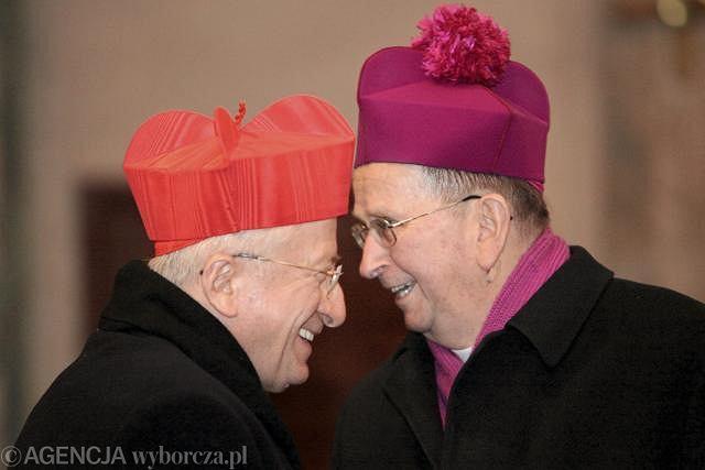 Kardynał Antonelli i abp Henryk Muszyński