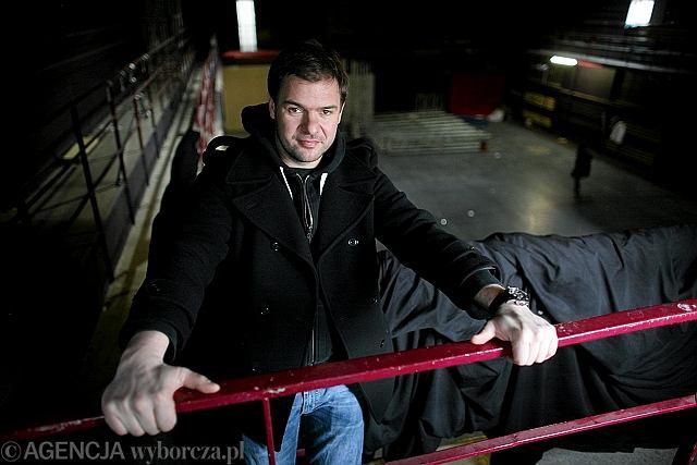 Tomasz Karolak w swoim Teatrze IMKA