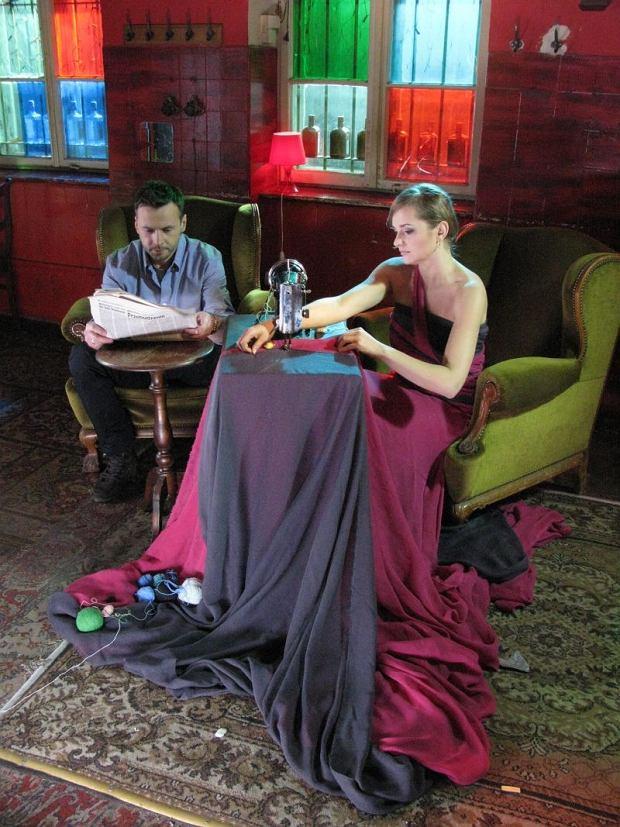 Zdjęcie numer 4 w galerii - Magda Wójcik i Marcin Rozynek na planie teledysku [galeria]