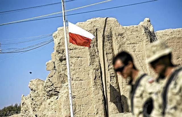 Polscy żołnierze w bazie Warrior w Ghazni