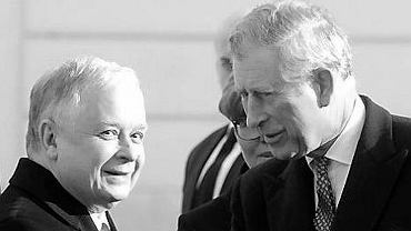 15 marca 2010 roku. Książę Karol spotyka się z prezydentem Lechem Kaczyńskim