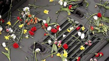 Kraków, dzień pogrzebu pary prezydenckiej na Wawelu