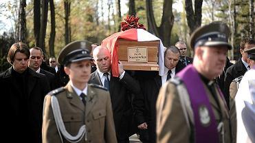 Pogrzeb oficera BOR-u Jacka Surówki