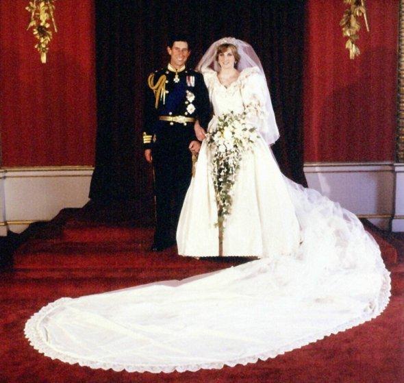 Ślub Księżnej Diany i Księcia Karola (AFP/ East News)