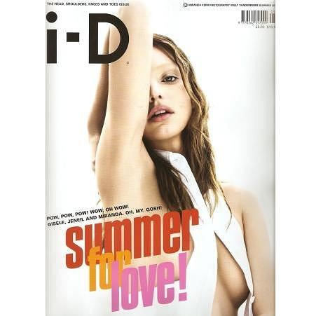 Miranda Kerr i-D magazyn lato 2010