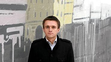 Leszek Jażdżewski, redaktor naczelny liberalnego magazynu 'Liberté!'