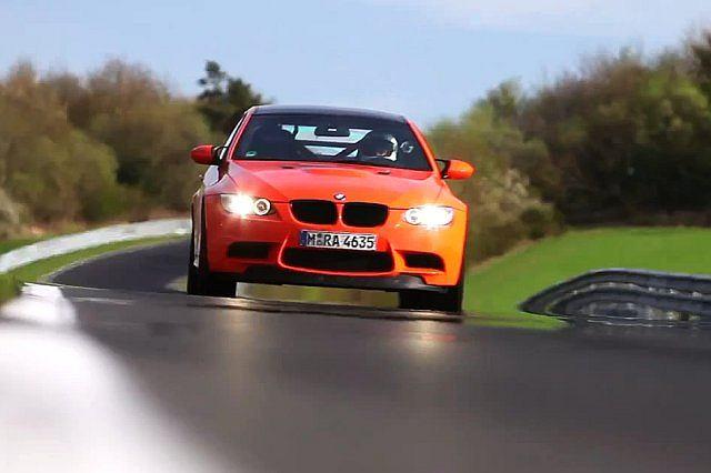 BMW M3 GTS na torze Nurburgring