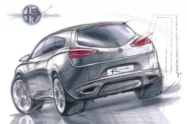 Kamal (2003) - Alfa Romeo rozważała produkcję crossovera już siedem lat temu