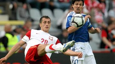 Tomasz Jodłowiec w meczu z Finlandią