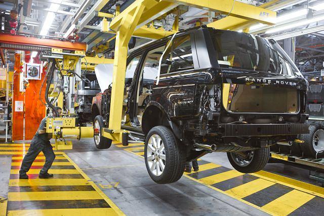 Fabryka Land Rovera