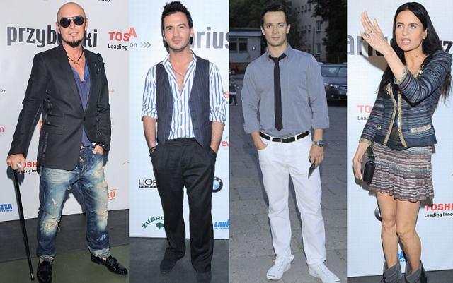 Gwiazdy kochają pokazy mody. To doskonała okazja, żeby się
