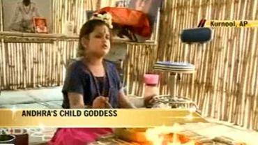 Ośmioletnia Sambhavi została ogłoszona inkarnacją bogini