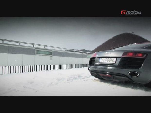 Audi R8 V10 | Test wideo