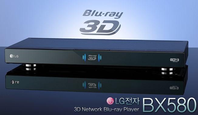Blu-ray 3D LG BX580