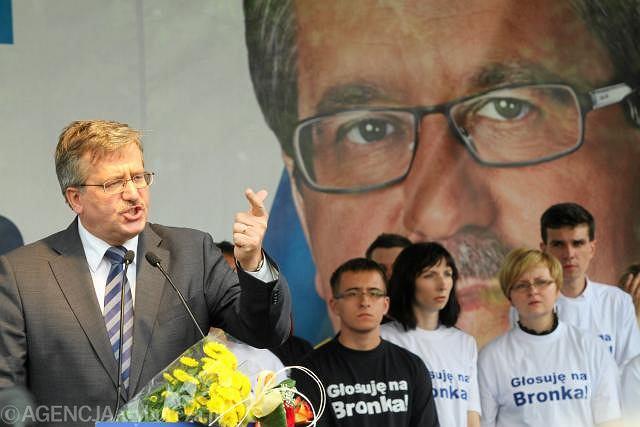 Bronisław Komorowski apelował we Włocławku do Polaków: dajcie nam 500 dni na pokazanie, że zgoda buduje