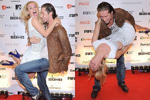 To tylko taniec, czy może już kochanie? Robert Kochanek i Izabela Janachowska spotkali się na imprezie Dance Crash. Wyglądali, jakby chcieli przetańczyć razem całe życie... Iskrzy?