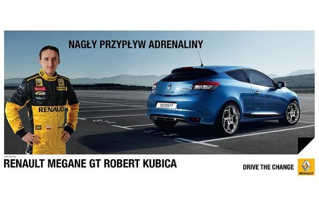 Renault Megane Coupe GT Robert Kubica Edition