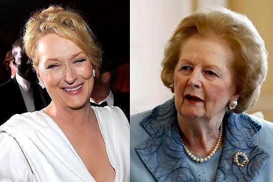 Meryl Streep i Margaret Thatcher